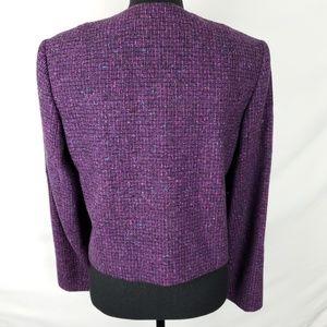 Pendleton Jackets & Coats - 100% Virgin Wool Purple Blazer by Pendleton
